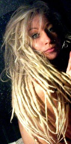 call me crazy but I like these long/thin dreads...so cool