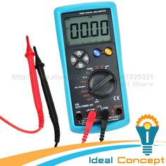 86.96$  Buy now - http://alirwz.worldwells.pw/go.php?t=32561598285 - True-RMS Multimeter USB Interface Tester AC/DC Current Voltage  Resistance Capacitance Diode Temperature Duty Cycle 86.96$