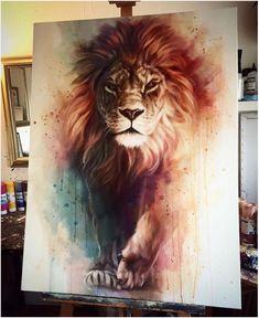 I am fierce as a lion.