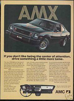 AMC Black AMX Photo Vintage Car (1978)