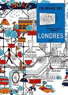 Londres Coloriage XXL Von Catherine Pioli Amazonde