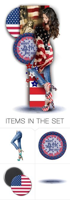 """""""Happy 4th of July"""" by alicja2204 ❤ liked on Polyvore featuring art"""