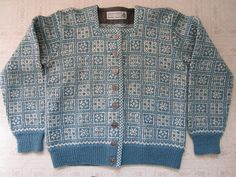 Husfliden Bergen Wool Sweater Handknitted in Norway
