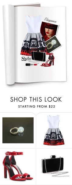 SheIn dress by styledonna on Polyvore featuring moda, Yves Saint Laurent, MAC Cosmetics, contest and shein