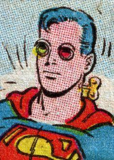 Superman's Face (4 color process)