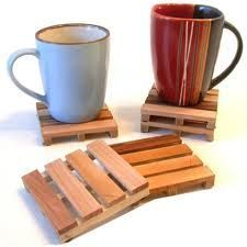 Recycle Reuse Renew Mother Earth Projects: How to Make a Pallet Coaster from Popsicle Sticks