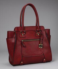 91f82671dee London Fog Red Knightsbridge Tote. Gq FashionModern FashionWomens ...