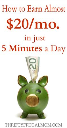This has been one of my favorite ways to make little bit of extra money over the last 5 years. It's easy enough that anyone can do it and it only takes about 5 minutes a day!