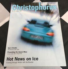 CHRISTOPHORUS PORSCHE MAGAZINE 251 JANUARY 1997 BOXSTER 986 HANS HERRMANN 918RSK Porsche, Up In Smoke, Queen Mary, Cruise, January, Magazine, Friends, Ebay, Amigos