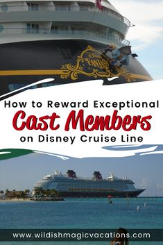How to Reward Exceptional Cast Members on Disney Cruise Line Disney Cruise Tips, Disney Vacation Planning, Disney World Planning, Magic Vacations, Disney Vacations, Cruise Travel, Cruise Vacation, Disney Hotels, Adventures By Disney