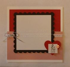 6x6 page with phrase from Grateful Greetings & Twitterpated button