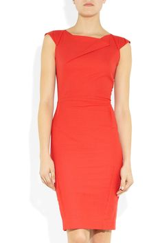 ROLAND MOURET  O'Hara origami-style crepe dress  $2040    And I just got a similar one for a dollar! #steal