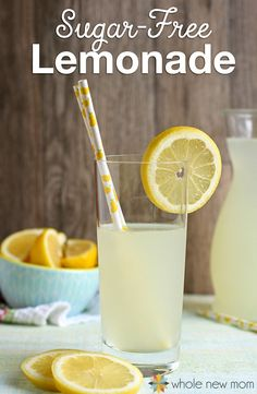 This Homemade Lemonade is a great way to k Sugar-Free Lemonade Recipe. This Homemade Lemonade is a great way to keep the heat and the munchies Diabetic Drinks, Low Carb Drinks, Healthy Drinks, Diet Drinks, Healthy Kids, Diabetic Recipes, Keto Recipes, Juicing, Drink Recipes