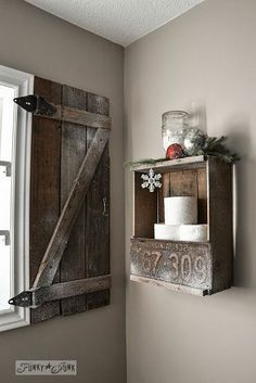 Expect the Unexpected With This Junker's Christmas Home Tour!