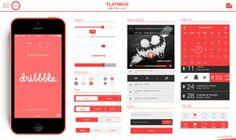flatimus flat design ios kit