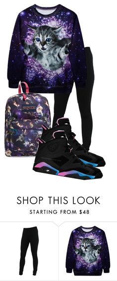 """""""Ole Gurl Summer"""" by carlace ❤ liked on Polyvore featuring Miraclebody Jeans by Miraclesuit and JanSport"""