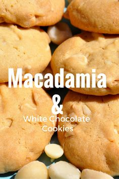 This easy cookie recipe is perfect for those who love white chocolate, and the addition of macadamia nuts give the cookies a wonderful crunch.