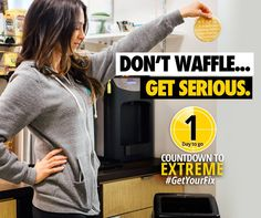 Don't waffle around on your weight loss goals - get a plan you can stick to with the 21 Day Fix EXTREME!