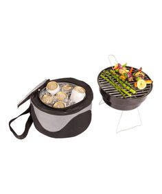 Personalized Grill Cooler & Portable Grill