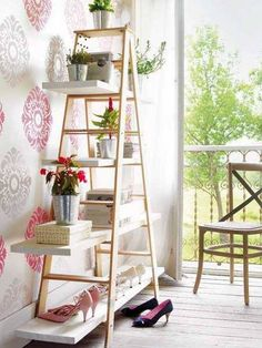 I need to find an old wood ladder