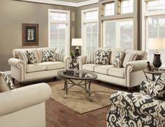 Parkway Living Room Set by Fusion at Crowley Furniture in Kansas City