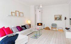 Chimeneas suecas para una decoración invernal con toques nórdicos  |  DECOFILIA.com