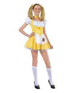 Goldilocks Tween Costume. Who the hell is marketing this garbage for TWEEN girls???