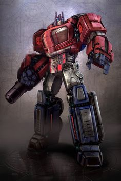 Optimus Prime concept for Transformers - War for Cybertron