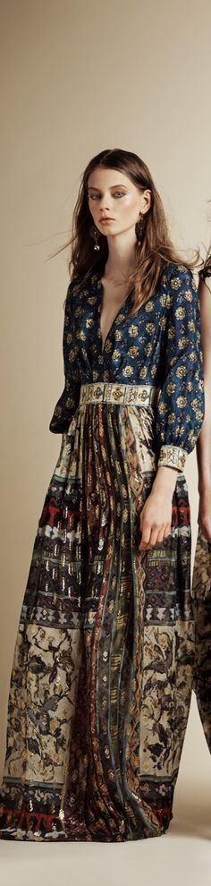 Alberta Ferretti resort 2016 women fashion outfit clothing style apparel @roressclothes closet ideas