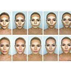 Love this #makeupdynsty @Regrann from @make4gla.m -  @makeuporcakeup  Which countour you like best ?????❤️❤️ #Regrann #wheresmybeauty #motivescosmetics#ovalbrush #ovalbrushes #sponge #concealer #anastasiabeverlyhills #meme #makeup #sephora #beautyblogger #fashionblogger
