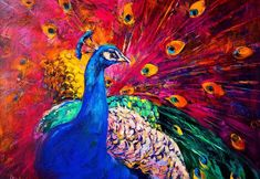Want to make your home unique and stand-out? Brighten up your walls with high quality, water-resistant, and colorful wallpaper murals. See our whole selection perfect for improving the environment of your bedroom, living room, kitchen, basement, office, and more! Wallpapers are easy to #OilPaintingPeacock