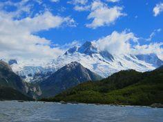 un fiordo en La Patagonia Chilena