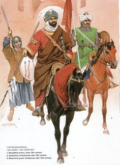 The Almohad Berber army