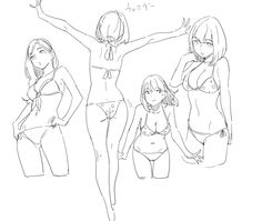Poses references (female)