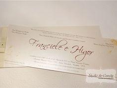 Convite Franciele e Higor