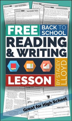 Four unique reading passages about the first day back at school, with worksheets and lesson ideas.