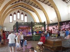 The heart of Javea is the historic centre, Javea old town - a site I visited often...the closed market!