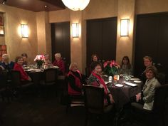 MWRW Christmas luncheon 2015