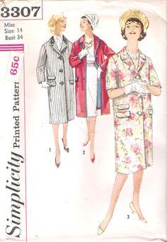 Vintage 1960's Mad Men Women's Lined Coat by GrandmaMadeWithLove, $10.00