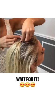 Work Hairstyles, Easy Hairstyles For Long Hair, Hairdos, Pretty Hairstyles, Hair Upstyles, Hair Affair, Great Hair, Hair Videos, Hair Today