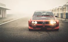 "automotivated: 1974 Alfa Romeo Alfetta (by Giannis ""KING"" Kokkas) Alfa Romeo Gtv6, Alfa Romeo Cars, Retro Cars, Vintage Cars, Alfa Gtv, Best Classic Cars, Car Posters, Performance Cars, Car Wallpapers"