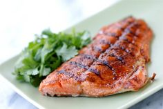 Rich, flavorful grilled wild salmon from Alaska is an ideal ingredient for winning weeknight dinners. This easy salmon recipe is ready in about 15 minutes. Wild Salmon Recipe, Easy Salmon Recipes, Fish Recipes, Great Recipes, Amazing Recipes, Favorite Recipes, Salmon Nutrition, Easy Healthy Dinners, Weeknight Dinners