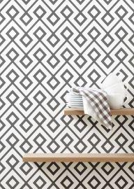 Livettes Wallpaper Geometric Pattern L501