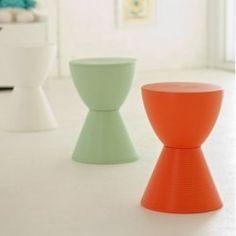 Modern Spring Hourglass Prince Aha Stool Chair | Modern furniture | Interior Trade furniture