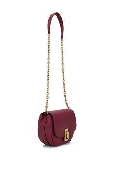 6ff9352f0d2bf7 Marc Jacobs West End Jane Saddle Bag Deep Maroon (Designer Colour) - MARC  JACOBS