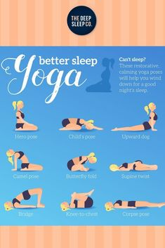 Restorative yoga helps the mind and body relax by using props to create positions of total comfort. Find out the top three yoga poses for sleep. Read Now.    #sleep #insomnia #yoga #relaxation Yoga Restaurador, Yoga Meditation, Yoga Poses For Sleep, Fitness Works, Upward Dog, Restorative Yoga Poses, Corpse Pose, Sleep Quotes, Home Sport