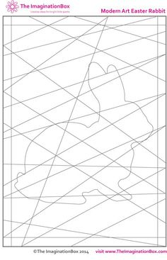 Easter art craft activities for kids, free printables coloring pages - The Imagination Box Heart Coloring Pages, Easter Coloring Pages, Easter Activities, Craft Activities For Kids, Easter Arts And Crafts, Spring Art, Craft Projects For Kids, Printable Coloring, Art Lessons
