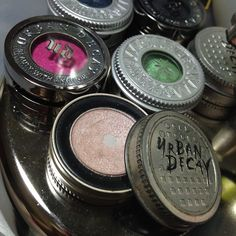 Urban Decay Eyeshadow Single Packaging Through the Years