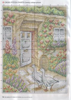 Gallery.ru / Фото #41 - The world of cross stitching 111 июнь 2006 - tymannost
