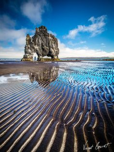 ✯ Hvitserkur, also known as the Stone Rhino is one of the most important attractions of the Vatnsnes peninsula in the western part of the bay Húnaflói, West Iceland